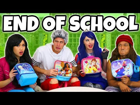 END OF SCHOOL LUNCH BOX SWITCH UP CHALLENGE. (We Play Descendants)