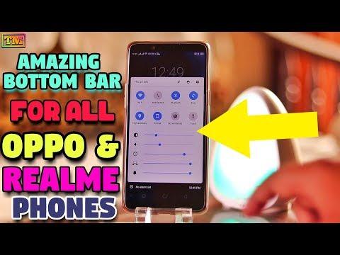 Oppo & Realme Amazing Bottom Bar