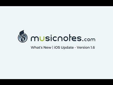 Musicnotes Sheet Music Player for iOS | What's New | Demo