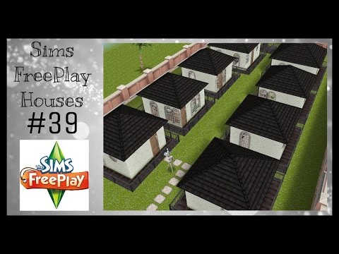 TINY TOWN HOUSES | Sims FreePlay House Idea #39