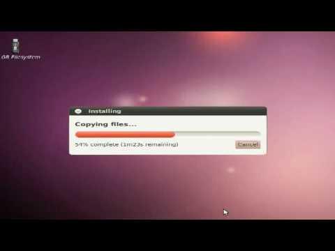 Creating a Live USB