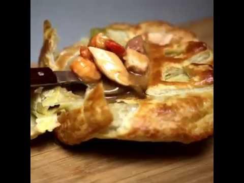 Warming Cajun Gumbo Pot Pie