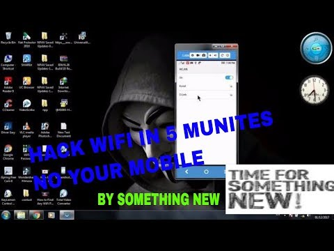 hack wifi without root your andriod phone and tablet in 5  minutes 100%working by (something new)