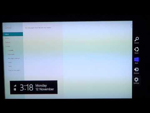 Windows 8 - Add Remove accounts In Mail