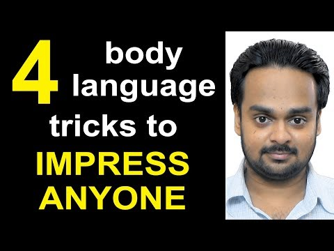 4 Body Language Tricks to Impress Anyone - Improve Communication Skills - Personality Development