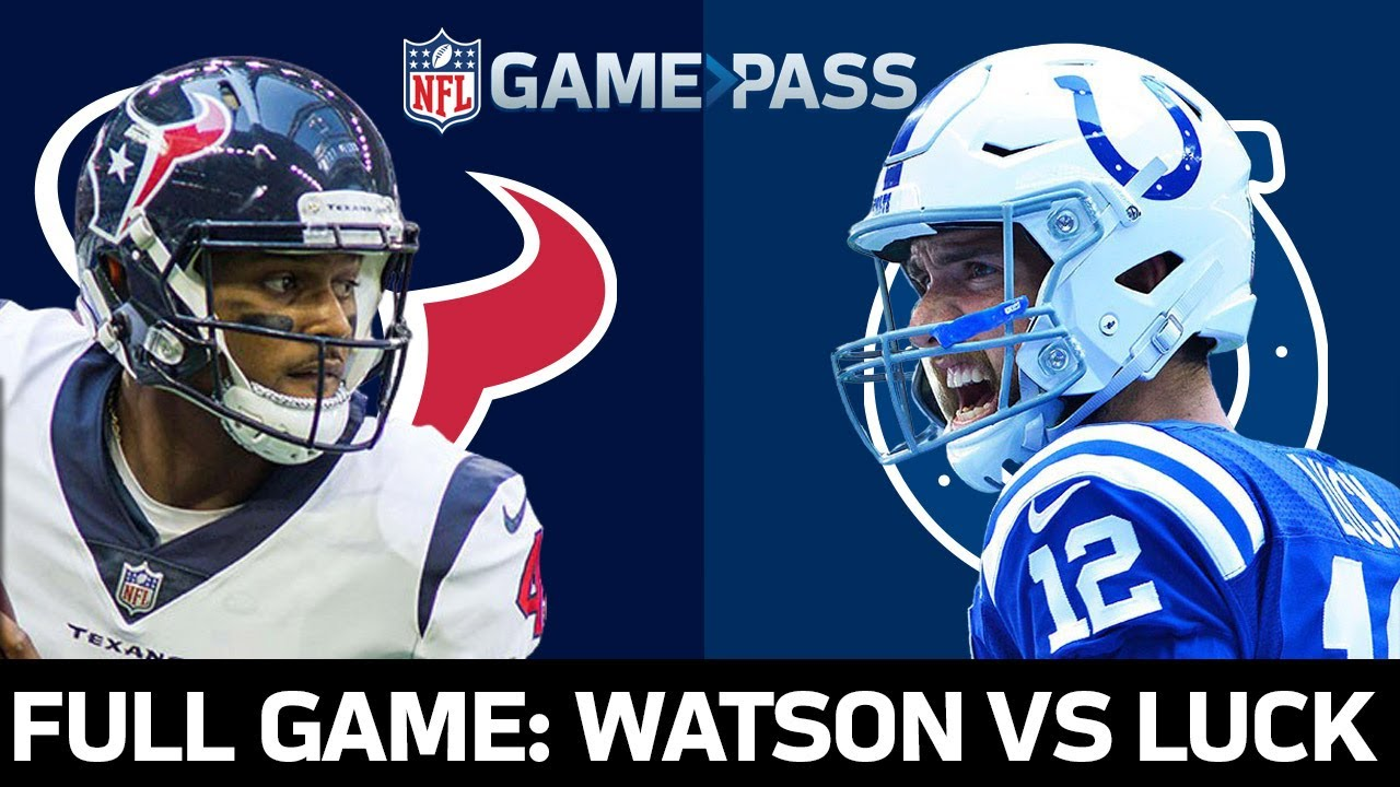 Houston Texans vs. Indianapolis Colts Week 4, 2018 FULL Game