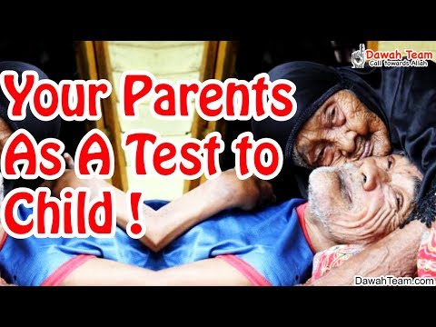 Your Parents As A Test to Child ᴴᴰ ┇Mufti Menk┇ Dawah Team