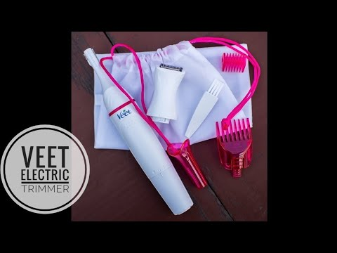 VEET SENSITIVE TOUCH ELECTRIC TRIMMER REVIEW IN HINDI