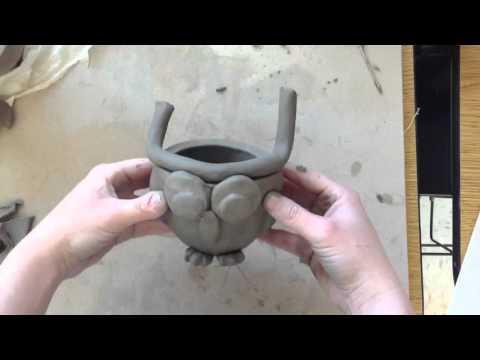 Pinch pot owl time lapse