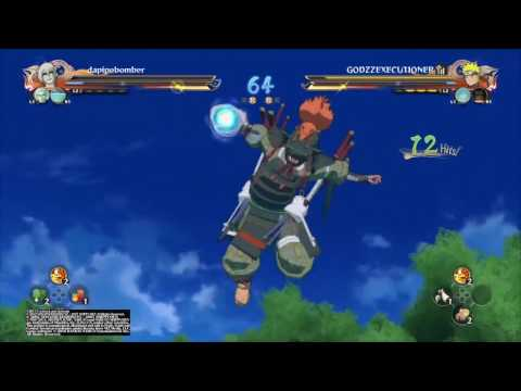 Naruto Ninja Storm 4   Online Team Battle #17