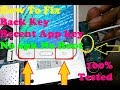 How To Fix Samsung BACK KEY RECENT APP KEY Not Working Solution 100% TESTED In Hardware..?