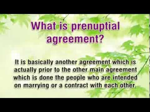 Prenuptial Agreement Sample - What you need to know and why use one?