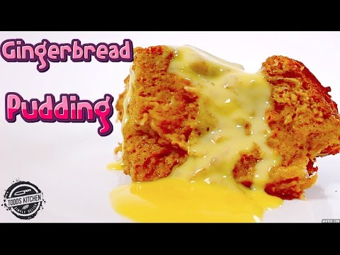 How to make GINGERBREAD PUDDING - Christmas Dessert Recipe