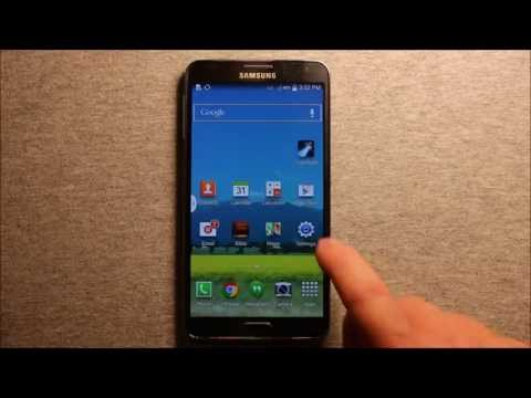 Samsung Galaxy Note 3 Factory Reset