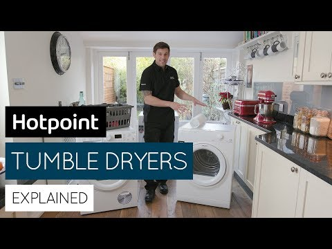 Tumble dryers explained   by Hotpoint