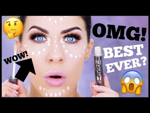 NEW HOLY GRAIL CONCEALER??!!!! URBAN DECAY ALL NIGHTER CONCEALER REVIEW!!!