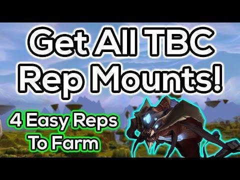 TBC Mount Rep Guide - Kurenai, Mag'har, Netherwing. Sha'tari Skyguard & Cenarion