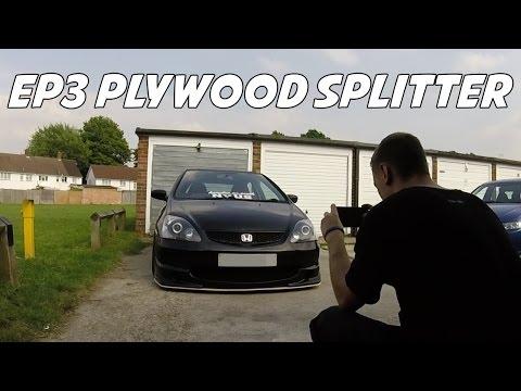 BTCC STYLE EP3 (PLYWOOD) SPLITTER