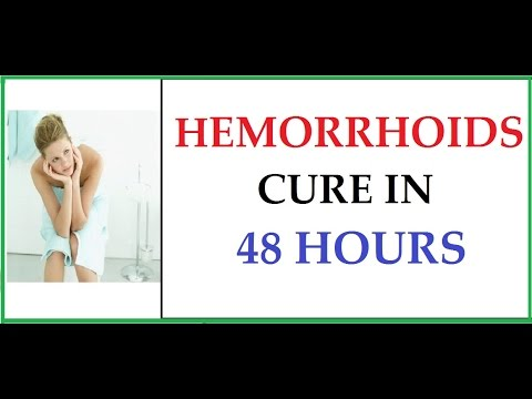 Hemorrhoids Home Treatment - How To Cure Hemorrhoids In 48 Hours