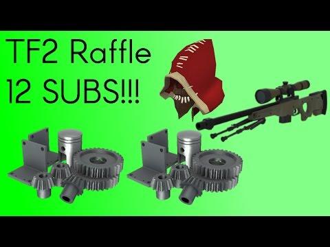 TF2 Raffle | 12 Subs! :D