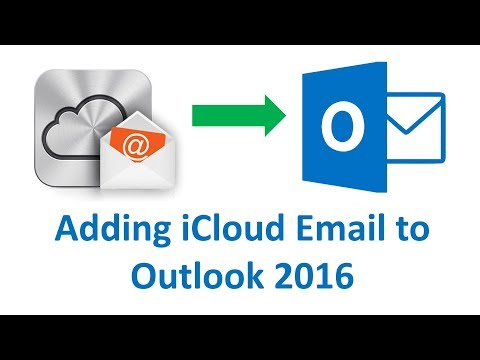How to Add  iCloud Email to Outlook 2016