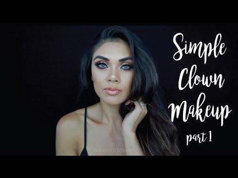 Simple Clown Smokey Eye Part1 (Smokey Eye)