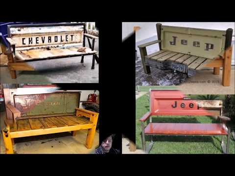 How to Make a Truck Tailgate Bench