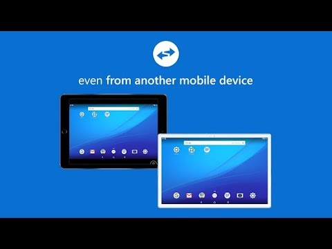 How to use TeamViewer app on your smartphone?