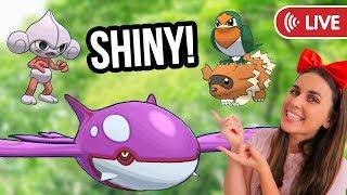 LEGENDARY RAIDS & SHINY HUNTING GEN 3   PokémonGO Live Stream
