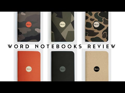 WORD Notebooks Review