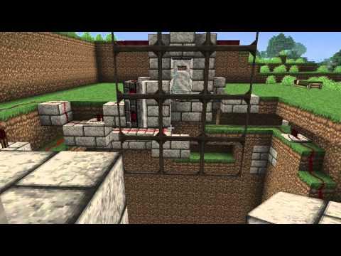 Minecraft: Redstone pvp arena match system