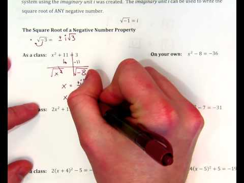 Complex Numbers Notes ex. 1 + one more