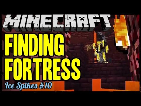 Minecraft: Finding Nether Fortress - Ice Spikes #10
