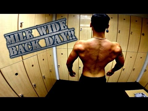 The Best Quick Back Workout | Mile Wide Back