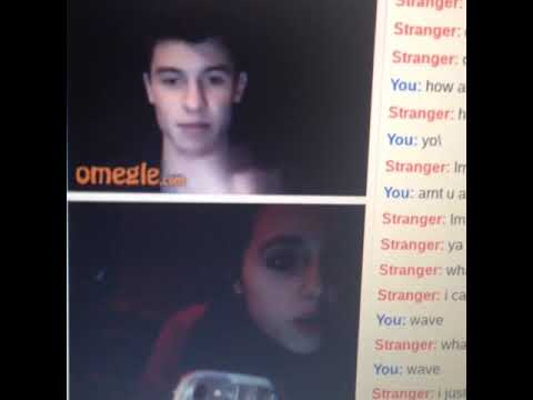 SHAWN MENDES ON OMEGLE OMFG!!!