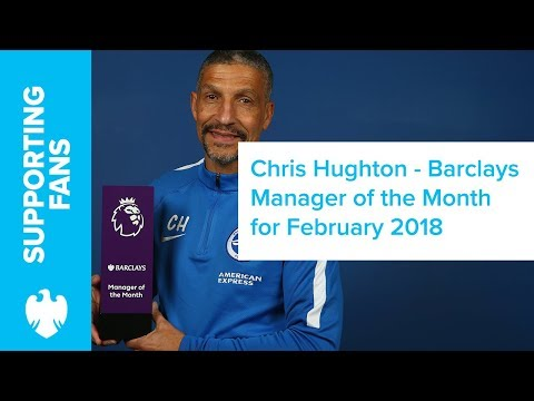 Barclays | February 2018 | Premier League Manager of the Month