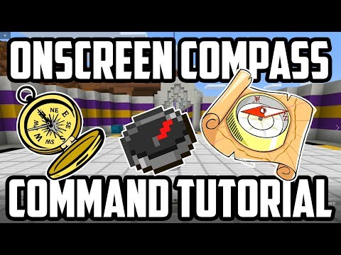 On Screen Compass - Command Tutorial