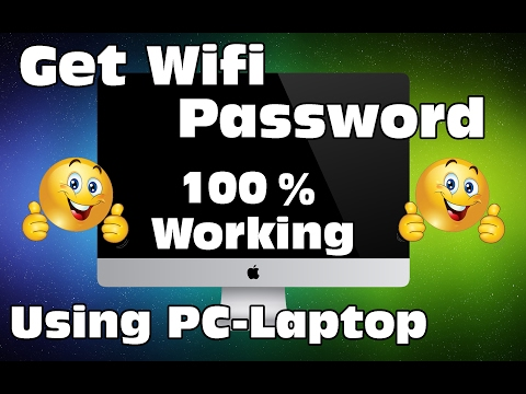 Find Wifi Password Using PC-Laptop - 100% Working