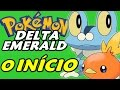 Pokémon Delta Emerald (Hack Rom) - O Início com a Sexta Geração