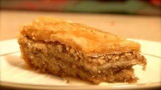 Baklava - made with honey