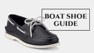 Boat Shoe Guide How To Wear Deck Shoes Break Them In Mistakes To Avoid