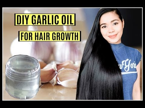 How To Make Garlic Oil For Hair Growth, Hair Loss, Dandruff & Itchy Scalp-Beautyklove