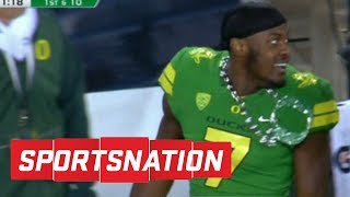 SportsNation roasts Oregon for imitation Turnover Chain | SportsNation | ESPN