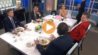 """Un invitado de La noche de Mirtha sufrió un imprevisto y abandonó la mesa en vivo: """"Perdoname"""""""