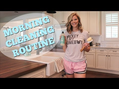 MORNING CLEANING ROUTINE // CLEAN WITH ME // collab with Page Danielle