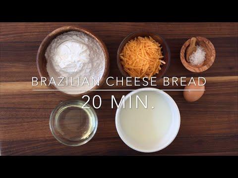 Easy Brazilian Cheese Bread (Pao De Quejo) Recipe - Gluten Free!