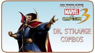 UMvC3 Dr. Strange Combos - Spell of Whoop Ass