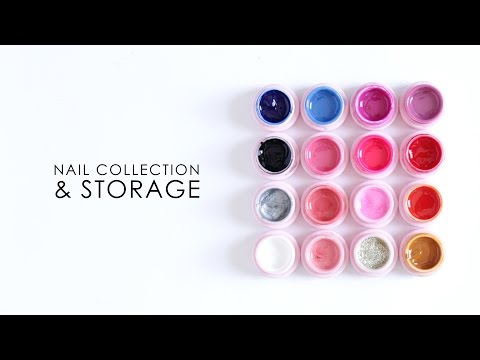 NAIL COLLECTION & STORAGE | Gel Polish