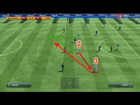 Fifa 14 (13) | One-Two Passing Tutorial | How & When to use! | by PatrickHDxGaming