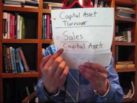(Capital Asset turnover ratio) Learn Business English Vocabulary Lesson 176